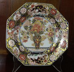 Meissen plate in the Japanese style, Circa 1735