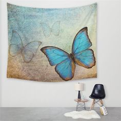 This is a beautiful Butterfly Tapestry. This Tapestry is an awesome centerpiece for any space, you can use it as a tablecloth or picnic blanket as well! Decorating Your Home, Interior Decorating, Interior Design, Decorating Ideas, Decor Ideas, Bohemian Tapestry, Mandala Tapestry, Wall Art Designs, Beautiful Butterflies