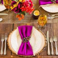 Get inspired this fall with one of our many table decor ideas!