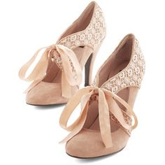 ModCloth Vintage Inspired Air of Elegance Heel