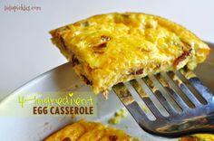 4-Ingredient Egg Casserole