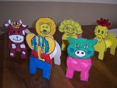 Activit manuelle animaux de la ferme cochon la - Activite manuelle avec rouleau papier toilette ...