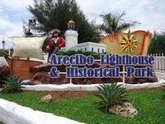 Arecibo LIghthouse, has historical park, mini zoo, water park & aquarium - M-F 9a-6p, S/U 10a-7p, $12 adults, $10 kids 2 - 12 & seniors, $3 parking,