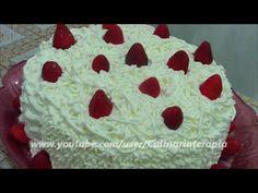 Torta deliciosa de morangos. 112.623 inscritos em nosso canal-Obrigada!!! - YouTube