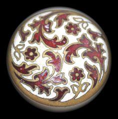 Old Enamel Button  Medium by KPHoppe on Etsy - Hoppe Glass http://www.hoppeglass.com/store/c121/Buttons.html