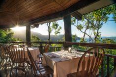 The view from Osprey's retaurant at Thala Beach Lodge @Australia #australia #restaurantaustralia