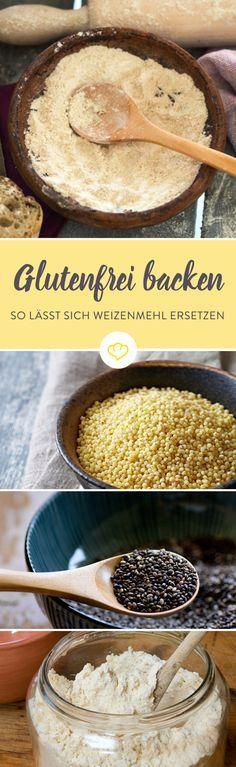 Glutenfrei backen ist leichter als gedacht. Was du beachten musst und wie sich herkömmliches Mehl ersetzen lässt, erfährst du hier.