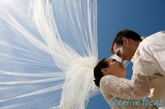 ©Creative Focus Photography, Beach Wedding  http://www.creativefocusinc.com/wedding.php