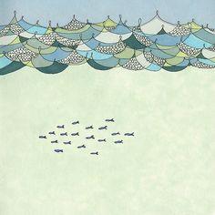 """Green Sea"" | Anika Stamer"