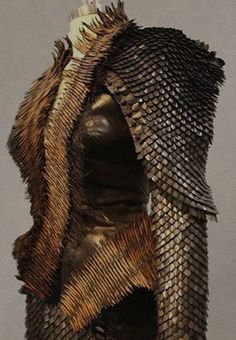Armored Gothic details by costume designer Coleen Atwood