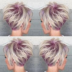 ☀️Top Short Haircut for Summer 2015 ☀️ on all of our social media channels! Lilac Swirls by @alexisbutterflyloft Your work is so incredible Alexis #Hotonbeauty #thewaywewere