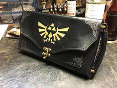 Black Nintendo Switch Case   Leather Zelda themed Nintendo