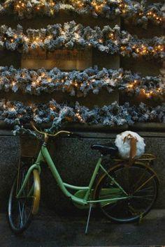 Christmas time bike.