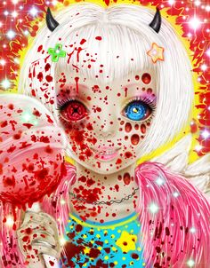 GoBoiano - Saccstry's Creepy Cute Art Will Unsettle You