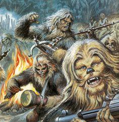 Wookies at war