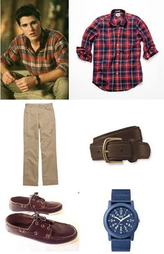Jake Ryan- this may explain my love for boys in plaid shirts.