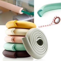 This is Gearonic toddlers kids baby safety softy desk table edge bumper guard protection cushion cover protector. Remove the concern over sharp table edges with the Kids Safety Edge Protector. Flaunti