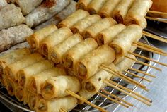 Cha gio - Fried spring rolls - Vietnam - Exotic recipes — Authentic World Food