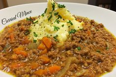 Super versatile slow cooked curry mince - eat it alone or use in lots of other dishes!