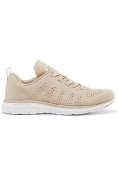 reputable site 7694a a8286 APL Athletic Propulsion Labs - Techloom Pro Cashmere-blend Mesh Sneakers -  Beige