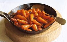 English/British recipes with photos | caramelised carrots recipe photo laura hynd