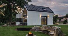 Minidomek v Jižních Čechách slouží pro útěk před ruchem města Gazebo, Outdoor Structures, Home, Kiosk, Pavilion, Ad Home, Homes, Cabana, Haus