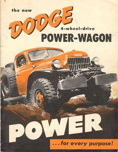 Vintage Dodge Power Wagon ad
