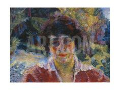 Portrait of Armida Brucky, 1909 Giclee Print by Umberto Boccioni at Art.com
