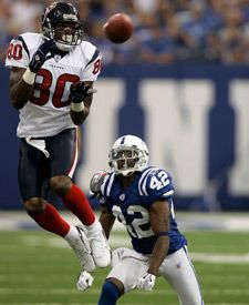 Andre Johnson - Houston Texans vs Indianapolis Colts