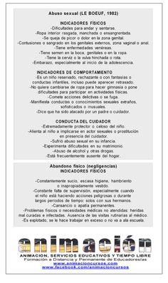 Abuso sexual Curso MEDIADOR SOCIAL EN PREVENCION DE MALOS TRATOS Y VIOLENCIA DE GENERO