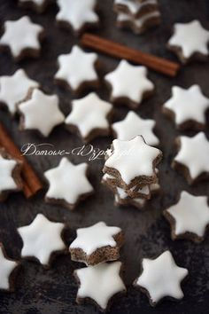 Cynamonowe gwiazdki (Zimtsterne)