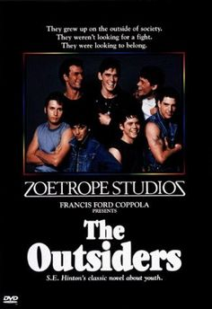 The Outsiders- tearjerker for sure. Was there ever a dreamier guy than Dallas Winston?