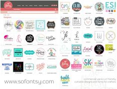 Silhouette School Launches So Fontsy: Commercial Use Designs and Fonts for Crafters - Silhouette School