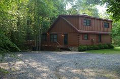 Blue Ridge Vacation Rental - VRBO 109903 - 3 BR Northwest High Country Cabin in GA, Beautiful View ~ Toccoa Riverfront ~ Fisherman's Dream