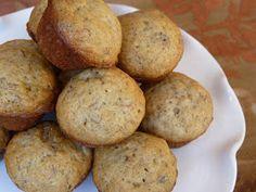 Fantastic Family Favorites: Mini Banana Muffins