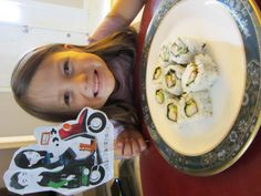Sharing my favorite food with Sam and Sofia.  #LittlePassports