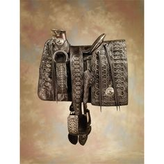 Ornate 1870s Mexican Saddle