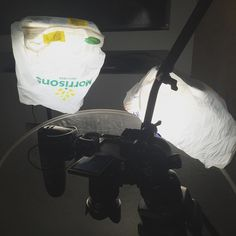 Sometimes you've got to use what have and adapt and overcome #nond #frugal #filmmaking #morrisons