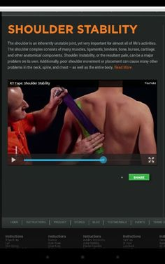 Shoulder stability Occupational Therapy, Physical Therapy, Workout Routines, Fun Workouts, Shoulder Joint, Shoulder Injuries, Athletic Training, Yoga Tips, Natural Solutions