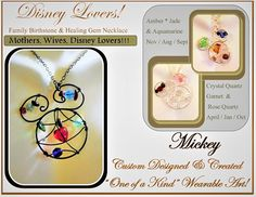 mothers daymother jewelry Mothersbirthstone jewelryDisney