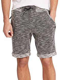 Madison Supply Textured French Terry Sweat Shorts