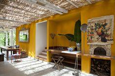 espaço gourmet.. colorido, rústico, tom claro e moderno.