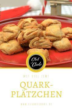 Quarkplätzchen mit Zimt - direkt ausprobieren! Einfach und lecker.