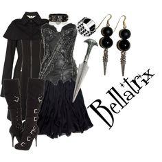 Bellatrix Lestrange (Harry Potter) Inspired Outfit