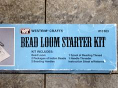 Check out this item in my Etsy shop https://www.etsy.com/listing/482925997/bead-loom-starter-kit-westrim-crafts