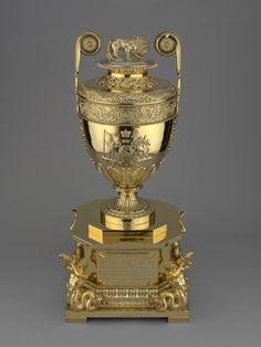 Benjamin Smith II The Trafalgar Vase or Lloyd's Patriotic Fund Vase  hallmark 1808/9  Silver gilt |