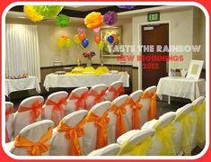 Taste the Rainbow New Beginnings Idea! Cute!