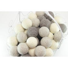 Laundry Wool Dryer Balls (You Pick Quantity, Color and Scent) Made in... ($5.88) ❤ liked on Polyvore featuring home, home improvement and cleaning