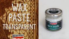 Színtelen viaszpaszta // Wax paste transparent All Video, Past, Decoupage, Videos, Youtube, Diy, Decorated Boxes, Past Tense, Bricolage