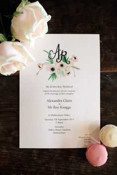 Wedding stationery by @Berinmade